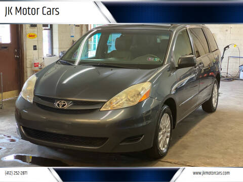 2010 Toyota Sienna for sale at JK Motor Cars in Pittsburgh PA