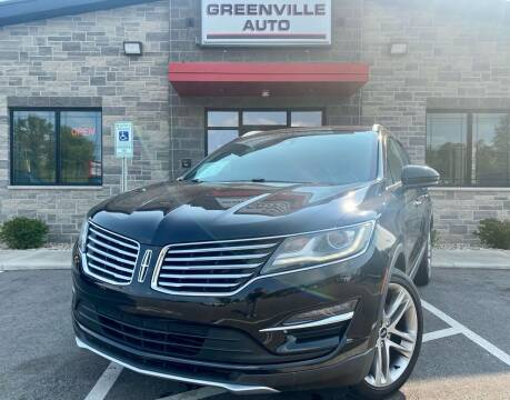 2018 Lincoln MKC for sale at GREENVILLE AUTO in Greenville WI