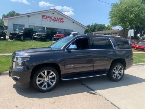 2015 Chevrolet Tahoe for sale at Efkamp Auto Sales LLC in Des Moines IA