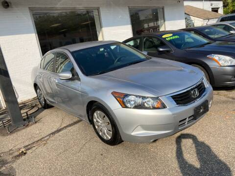 2009 Honda Accord for sale at ENFIELD STREET AUTO SALES in Enfield CT