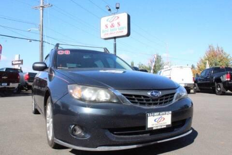 2008 Subaru Impreza for sale at S&S Best Auto Sales LLC in Auburn WA