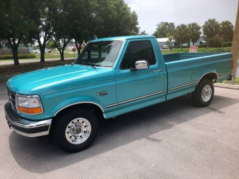 1995 Ford F-150 for sale at RPM Motors LLC in West Palm Beach FL