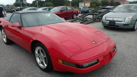 1992 Chevrolet Corvette for sale at Kelly & Kelly Supermarket of Cars in Fayetteville NC
