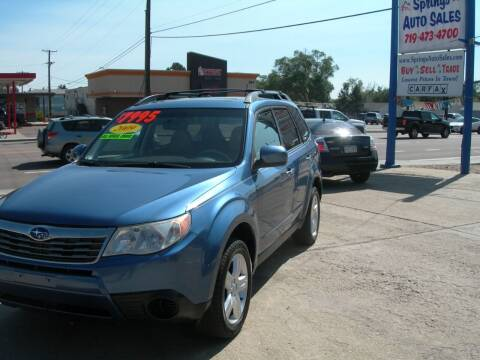 2009 Subaru Forester for sale at Springs Auto Sales in Colorado Springs CO