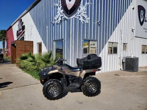2019 Suzuki Kingquad 750 for sale at Barrett Bikes LLC in San Juan TX