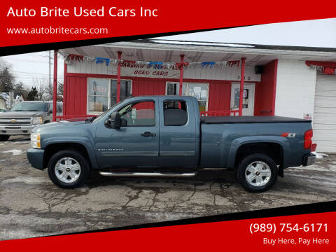 2008 Chevrolet Silverado 1500 for sale at Auto Brite Used Cars Inc in Saginaw MI