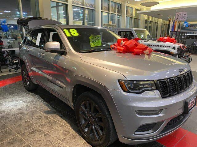 2018 Jeep Grand Cherokee for sale at Premium Motors in Rahway NJ