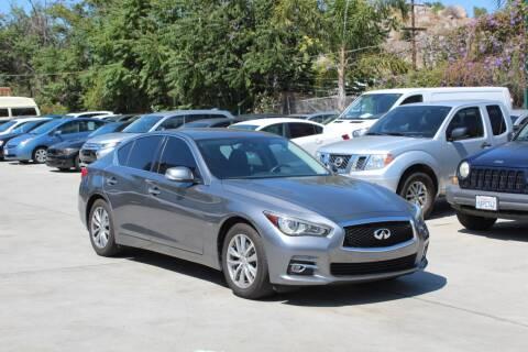 2017 Infiniti Q50 for sale at Car 1234 inc in El Cajon CA