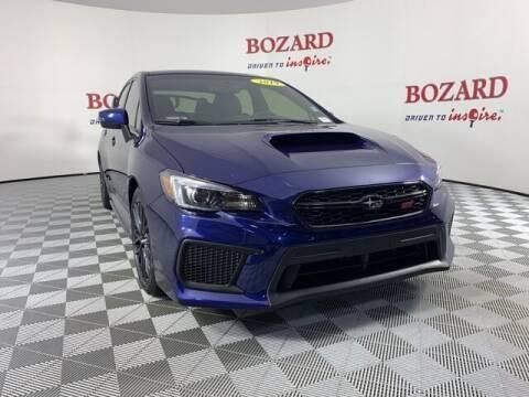 2019 Subaru WRX for sale at BOZARD FORD in Saint Augustine FL