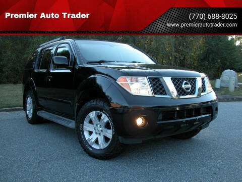 2006 Nissan Pathfinder for sale at Premier Auto Trader in Alpharetta GA