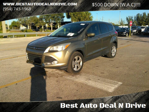 2013 Ford Escape for sale at Best Auto Deal N Drive in Hollywood FL