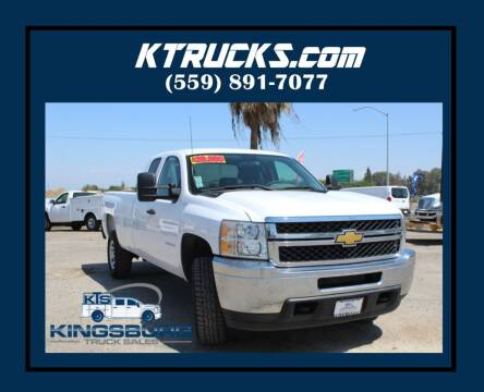2012 Chevrolet Silverado 3500HD for sale at Kingsburg Truck Center in Kingsburg CA