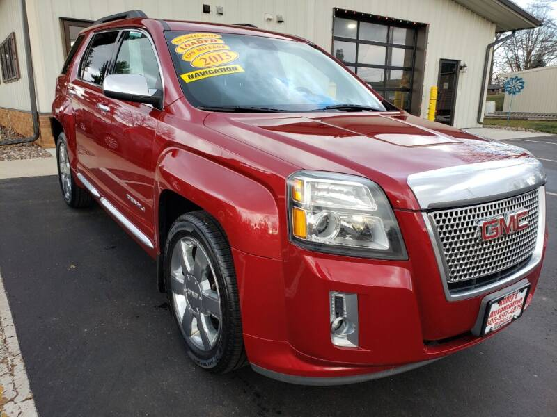 2013 GMC Terrain for sale at Kubly's Automotive in Brodhead WI