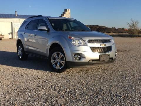 2013 Chevrolet Equinox for sale at Double TT Auto in Montezuma KS