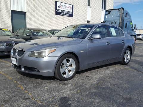 2006 BMW 5 Series for sale at AUTOSAVIN in Elmhurst IL