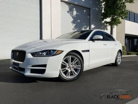2017 Jaguar XE for sale at BLACK LABEL AUTO FIRM in Riverside CA