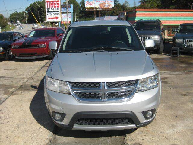 2011 Dodge Journey for sale at LAKE CITY AUTO SALES in Forest Park GA