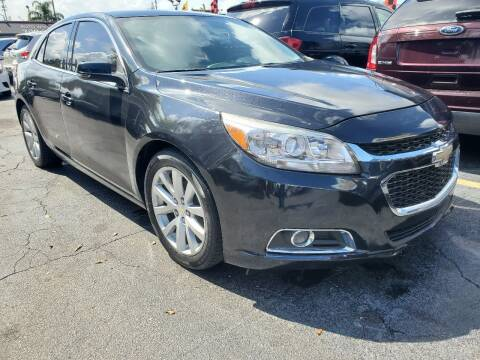 2014 Chevrolet Malibu for sale at America Auto Wholesale Inc in Miami FL