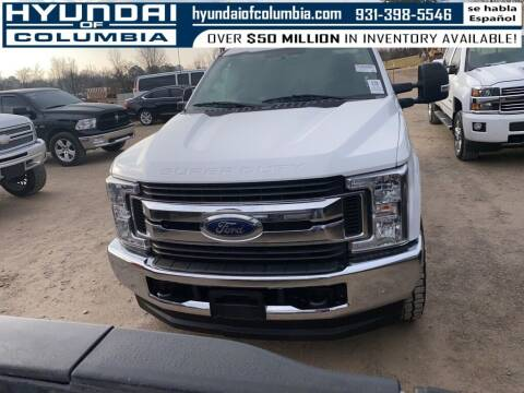 2018 Ford F-250 Super Duty for sale at Hyundai of Columbia Con Alvaro in Columbia TN