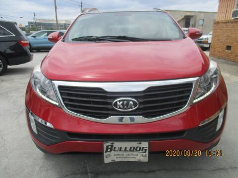 2012 Kia Sportage for sale at Atlantic Motors in Chamblee GA