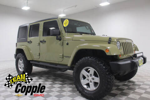 2013 Jeep Wrangler Unlimited for sale at Copple Chevrolet GMC Inc in Louisville NE