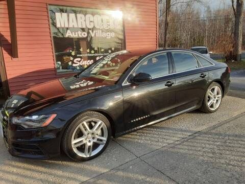 2015 Audi A6 for sale at Marcotte & Sons Auto Village in North Ferrisburgh VT