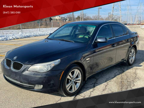 2009 BMW 5 Series for sale at Klean Motorsports in Skokie IL