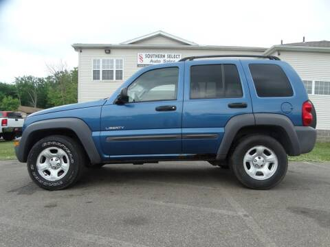 2004 Jeep Liberty for sale at SOUTHERN SELECT AUTO SALES in Medina OH