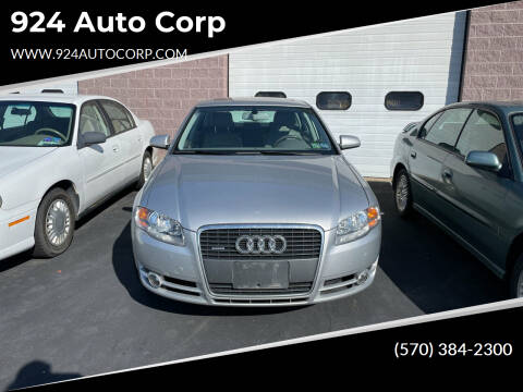 2006 Audi A4 for sale at 924 Auto Corp in Sheppton PA