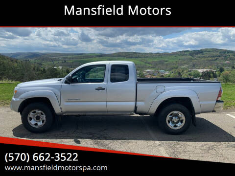2013 Toyota Tacoma for sale at Mansfield Motors in Mansfield PA