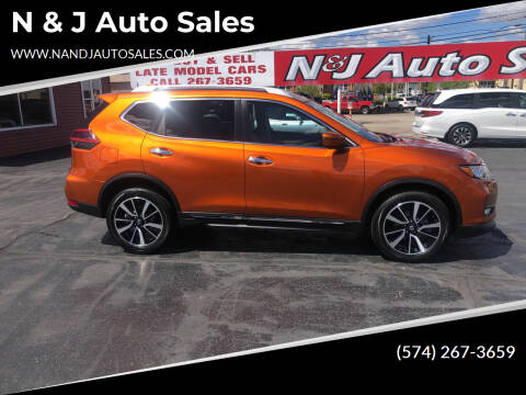 2019 Nissan Rogue for sale at N & J Auto Sales in Warsaw IN