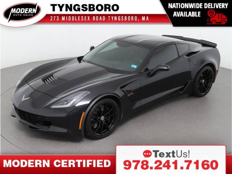 2019 Chevrolet Corvette for sale at Modern Auto Sales in Tyngsboro MA