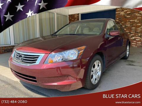 2010 Honda Accord for sale at Blue Star Cars in Jamesburg NJ