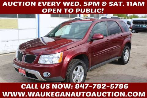 2008 Pontiac Torrent for sale at Waukegan Auto Auction in Waukegan IL