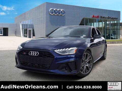 2020 Audi S4 for sale at Metairie Preowned Superstore in Metairie LA