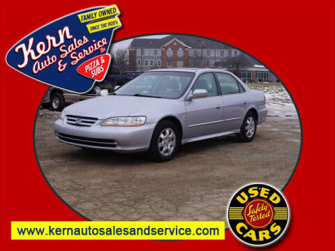 2002 Honda Accord for sale at Kern Auto Sales & Service LLC in Chelsea MI