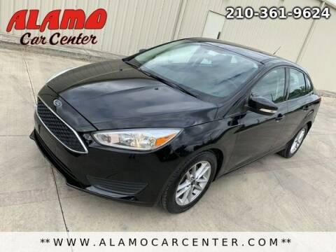2017 Ford Focus for sale at Alamo Car Center in San Antonio TX