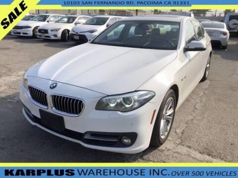 2015 BMW 5 Series for sale at Karplus Warehouse in Pacoima CA