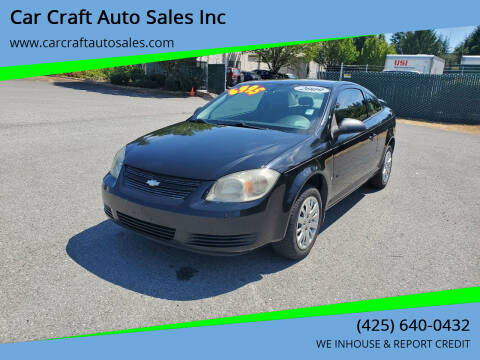 2009 Chevrolet Cobalt for sale at Car Craft Auto Sales Inc in Lynnwood WA
