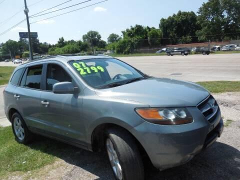 2007 Hyundai Santa Fe for sale at SCOTT HARRISON MOTOR CO in Houston TX