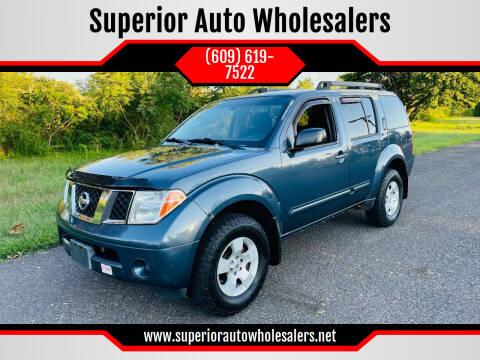 2006 Nissan Pathfinder for sale at Superior Auto Wholesalers in Burlington NJ
