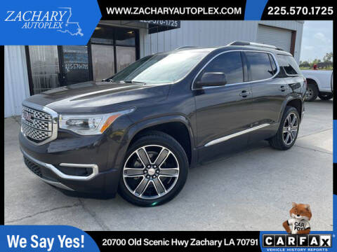 2018 GMC Acadia for sale at Auto Group South in Natchez MS