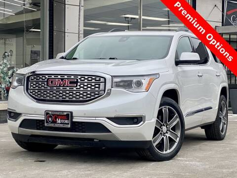 2017 GMC Acadia for sale at Carmel Motors in Indianapolis IN