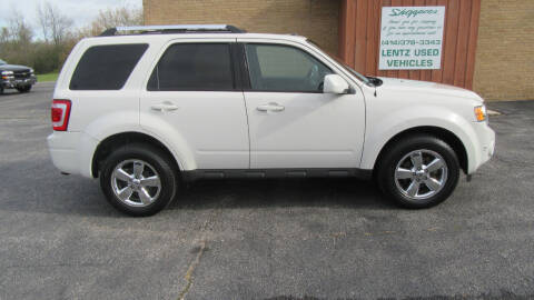 2012 Ford Escape for sale at LENTZ USED VEHICLES INC in Waldo WI