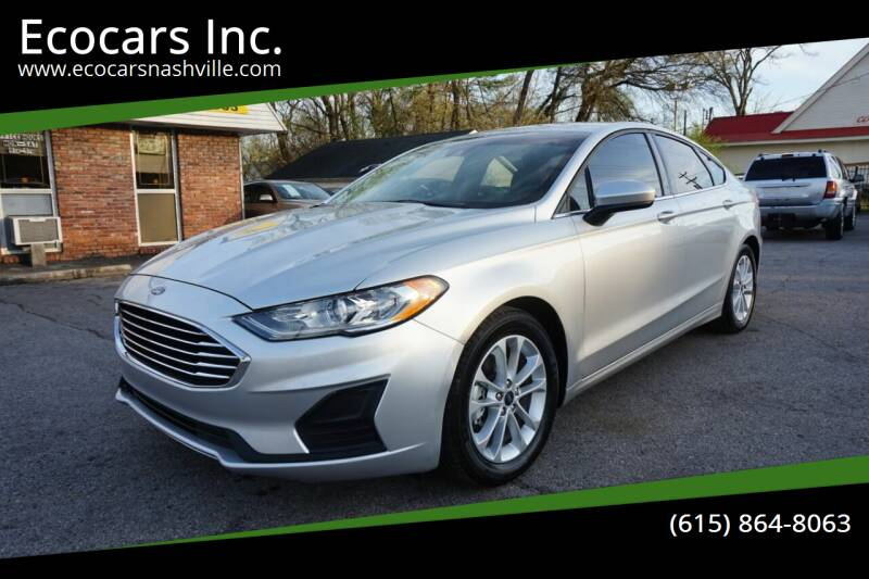 2019 Ford Fusion for sale at Ecocars Inc. in Nashville TN