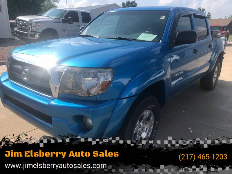 2005 Toyota Tacoma for sale at Jim Elsberry Auto Sales in Paris IL
