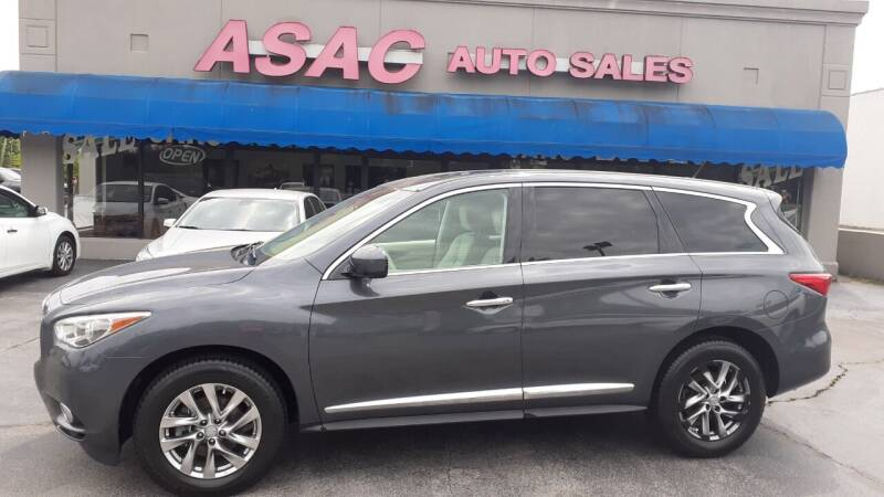 2013 Infiniti JX35 for sale at ASAC Auto Sales in Clarksville TN