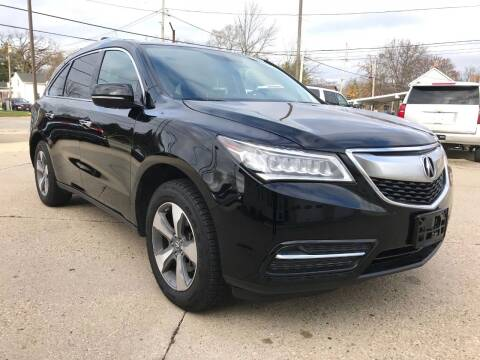 2014 Acura MDX for sale at Auto Gallery LLC in Burlington WI