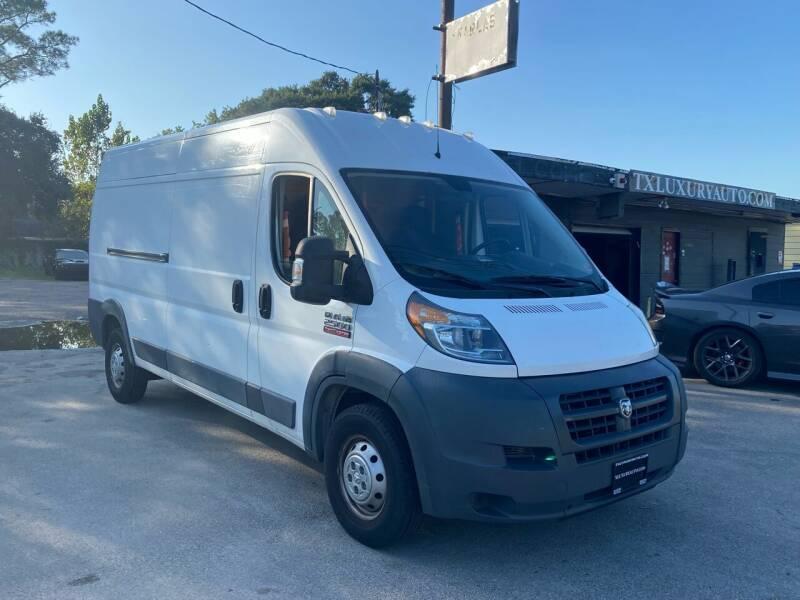 2016 RAM ProMaster Cargo for sale at Texas Luxury Auto in Houston TX