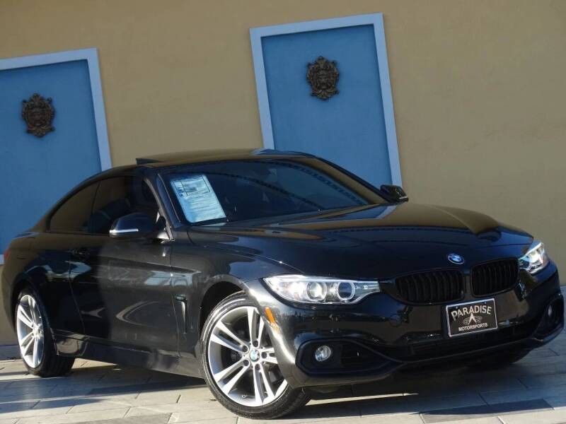 2015 BMW 4 Series for sale at Paradise Motor Sports LLC in Lexington KY
